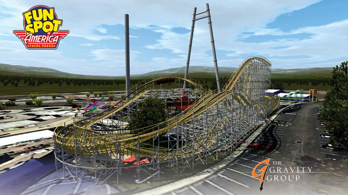 New Roller Coaster Coming to Fun Spot America Kissimmee in 2017