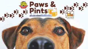 Paws and Pints Logo